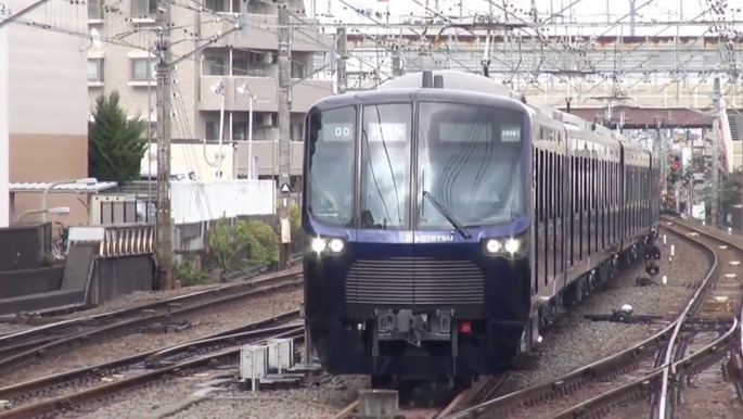 Sagami_Railway_20000_series_test_run_2017-12-10_(1)