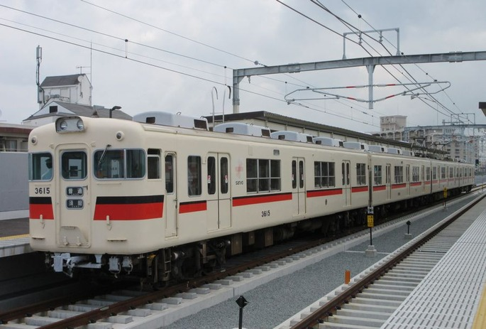 Sanyo_3030F_at_Nishi-shimmachi_station