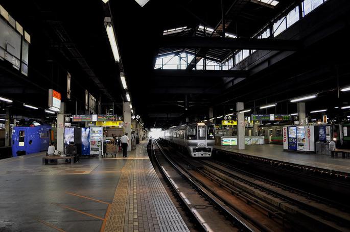 札幌駅ホーム