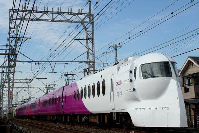 南海電気鉄道50000系ラピート・第5編成(ハッピーライナー塗装)