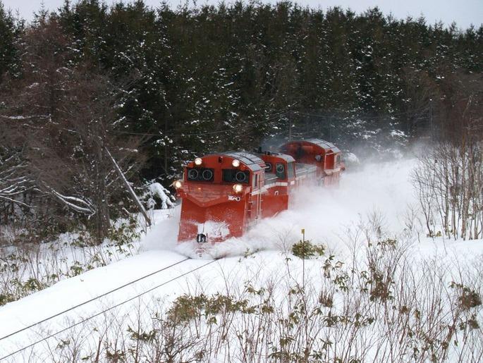 DE15_Russel_in_Hokkaido