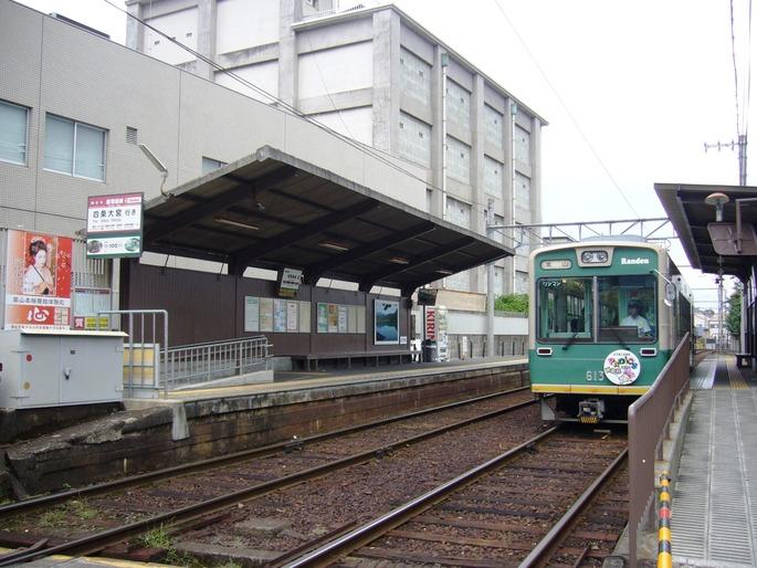 京福嵐電嵯峨駅