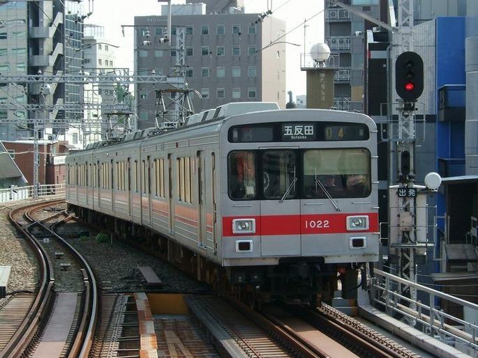 Tokyu-1000-in-ikagami-line