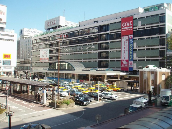 Yokohama_station_west_exit