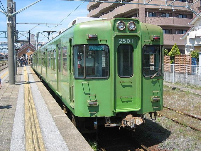 銚子電鉄2000形2501編成