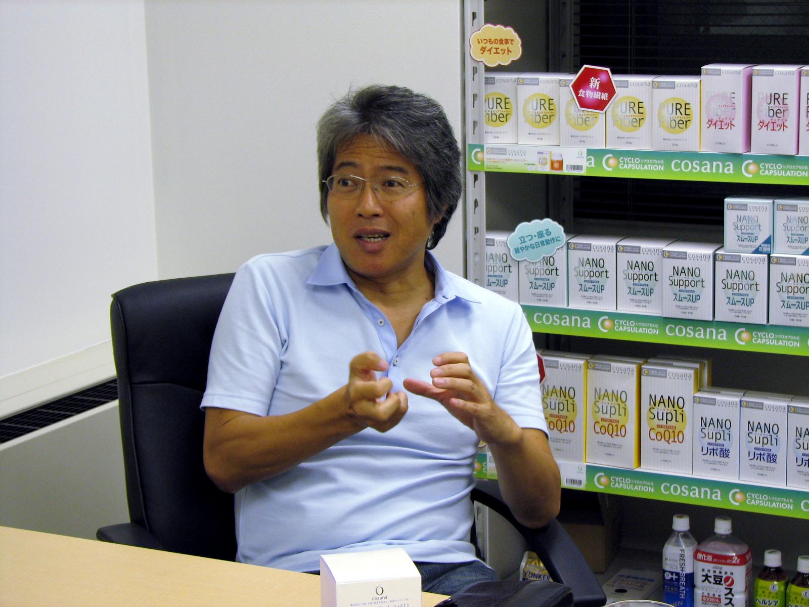 鴨井社長の健康対談:漫画原作者...