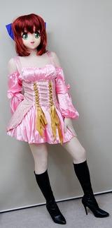 ピンクドレス39