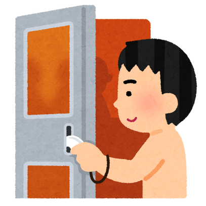 ofuro_sauna_door