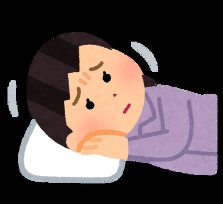 sleep_makura_woman_awanai