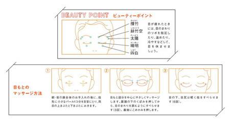 目もとマッサージ(資生堂)