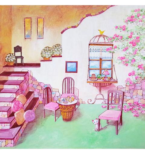 塚本禎子さんが、個展をします! : 「わがらの会」コスモアトリエOB会