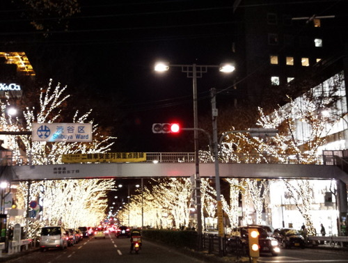 2015.12.8表参道イルミ