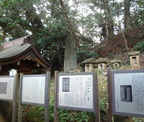 猿田神社 本殿裏側