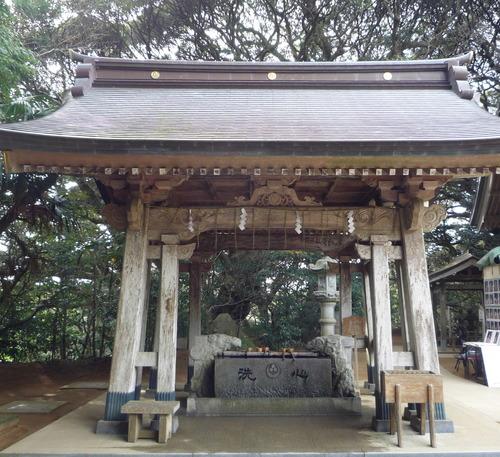 猿田神社 手水舎