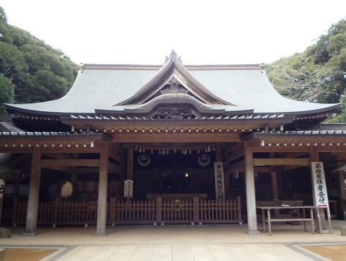 猿田神社 拝殿正面