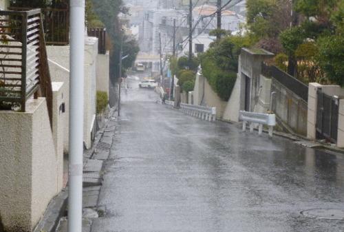 龍口明神社への道1