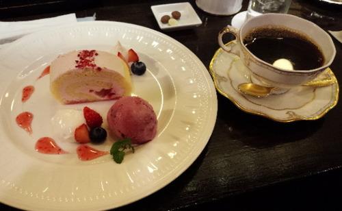 江の島ケーキセット