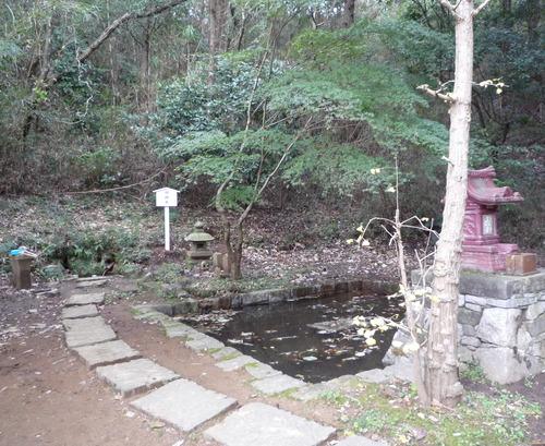 猿田 ご神水場