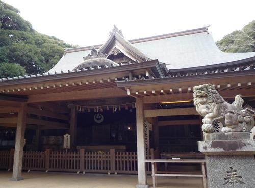猿田神社 拝殿右