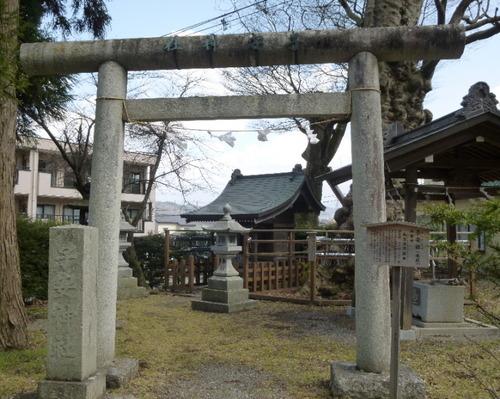 子安神社鳥居