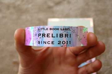 「LITTLE BOOK LABEL PRELIBRI ステッカー」 - 09