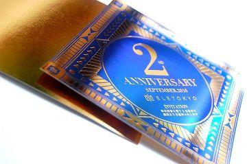 ELE TOKYO 2nd Anniversary INVITATION - 02