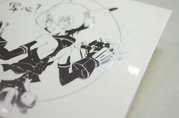 写心?箔押しステッカー - 03