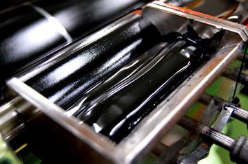 「クロユリ」活版箔押しマスキングテープ - 02
