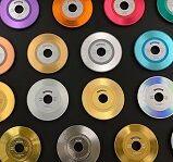 レコード風箔押し表現