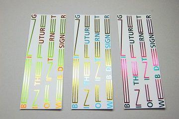 東京造形大学 メディアデザイン専攻領域 案内カード - 02