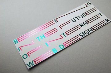 東京造形大学 メディアデザイン専攻領域 案内カード - 04