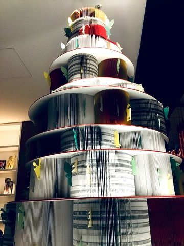 活字をつなぐクリスマスツリー - 05