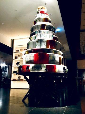 活字をつなぐクリスマスツリー - 01