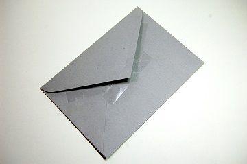 『 セロハンテープ風 透明箔押し 』 封筒 - 06