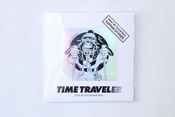 TIME TRAVELER STICKER - 01