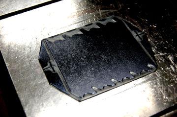 「クロユリ」活版箔押しマスキングテープ - 03