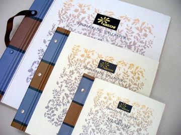 大きな紙壁紙の見本帳 - 02