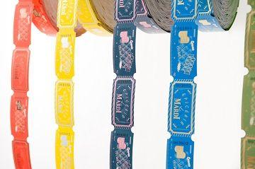 Le MARDI Roll Ticket Cards - 04