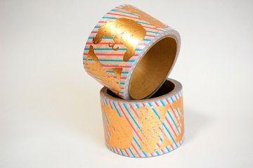 大塚いちお 特大箔押しマスキングテープ - 01
