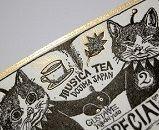 ヒグチユウコさん GUSTAVE 紅茶缶ラベル