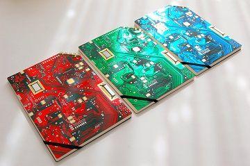 『ナスカの電子回路』ななめリングノートRGB - 01