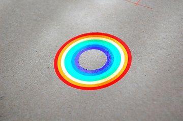 ななめリングノート 『 虹 』