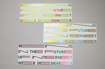 東京造形大学 メディアデザイン専攻領域 案内カード - 01