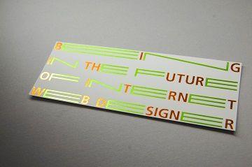 東京造形大学 メディアデザイン専攻領域 案内カード - 03