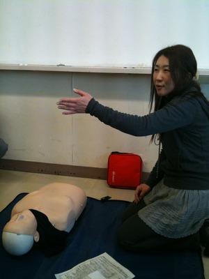 曽根「AED使えますか?」