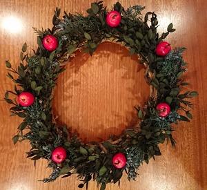 クリスマスリース-1