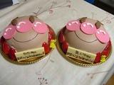 うたえい2歳のケーキ
