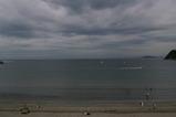 6月15日の逗子海岸