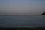 6月13日の逗子海岸