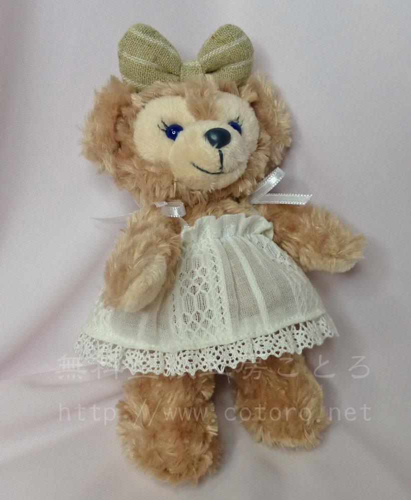 作り方☆「キャミソール・サマーワンピース・ギャザースカート」シェリーメイぬいば・ストラップ、幼SD等の人形に☆無料型紙  無料型紙工房ことろ